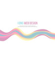 wave design banner background collection vector image vector image
