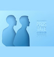 world prostate cancer month concept vector image vector image