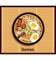 Japanese Ramen Concept vector image