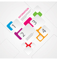 Abstract Info graphic vector image