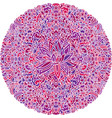 abstract mandala ornament asian pattern with vector image