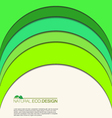 Abstract natural eco background vector image vector image