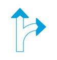 arrows icon image vector image vector image