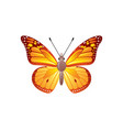 butterfly icon 3d realistic viceroy butterfly vector image vector image