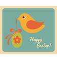 Easter Greeting Card Design vector image vector image