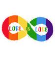 lgbt rights symbol gay parade sign vector image