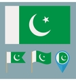 Pakistancountry flag vector image vector image