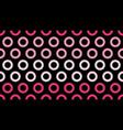 seamless polka dot pop art creative design vector image