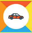 sedan colorful outline symbol premium quality vector image vector image