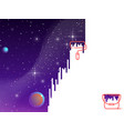 space paint vector image vector image