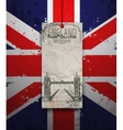 Tower Bridge England London vector image vector image