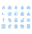fire related icon and symbol set vector image vector image