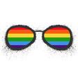 lgbt rights symbol gay parade sign vector image vector image