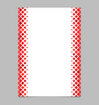 page template from red diagonal square pattern vector image vector image