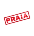 Praia Rubber Stamp vector image vector image