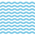 simple blue wave lines background vector image