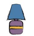 decorative lamp icon vector image