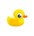 cartoon ducky vector image