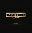 black friday sale super friday sale logo vector image