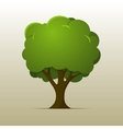 Cartoon Tree vector image vector image