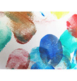 Colorful Abstract watercolor vector image