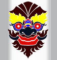 mask of ghost vector image