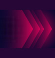 modern abstract background pink purple and blue vector image vector image