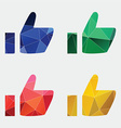 ok icon Abstract Triangle vector image