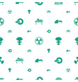 radiation icons pattern seamless white background vector image vector image