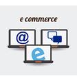 shopping concept vector image vector image