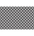 Black white diagonal check texture seamless vector image vector image