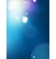 Blue shiny sky modern abstract light background vector image vector image