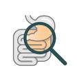 gastroenterology icon vector image vector image