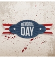 Memorial Day Holiday Badge vector image