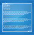 plate glass with text vector image vector image