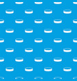 puck pattern seamless blue vector image