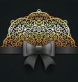 royal wedding invitation design vector image vector image