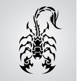 Tribal Scorpions vector image vector image