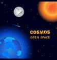 cosmos open space vector image vector image