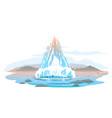 geyser activity vector image