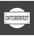 Oktoberfest Banner vector image vector image