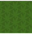 Seamless pattern of abstract leaves of marijuana vector image vector image