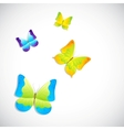 Butterfly background vector image