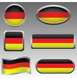 Germany signs vector image vector image