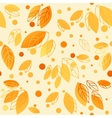 Gold fall design vector image vector image