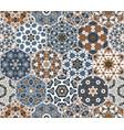 hexagon set template vector image vector image