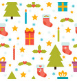 holidays background with christmas tree vector image vector image