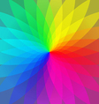 Color wheel abstract geometric stripes vector image