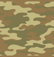 abstract camouflage seamless pattern camo vector image