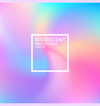 abstract iridescent background vector image vector image